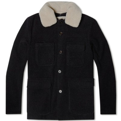 Universal Works Crofter Jacket Charcoal