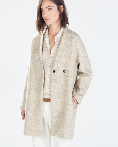 Wool Coat Coats Woman Collection Aw14 Zara Netherlands