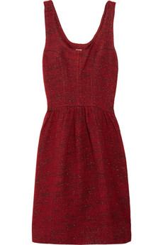 Rebecca Minkoff Maricarla metallic tweed dress 55 Off Now at THE OUTNET