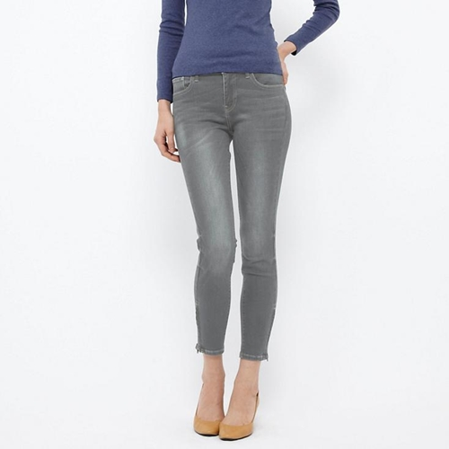 Women Ultra Stretch Ankle Length Jeans Uniqlo
