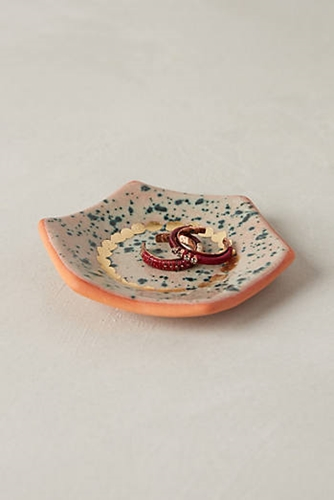 Speckled Hexagon Trinket Dish