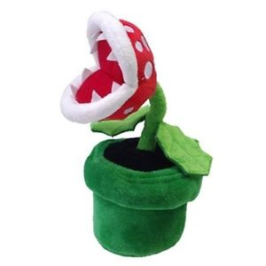 New Sanei Officially Licensed Super Mario Plush 9 Piranha Plant Japanese Import Ebay