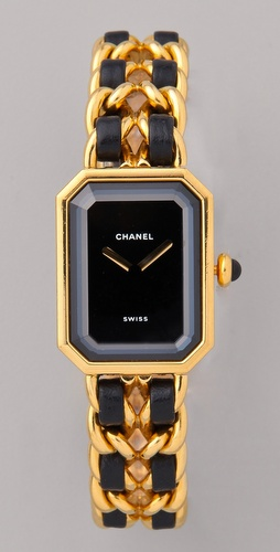 WGACA Vintage Vintage Chanel Leather Watch SHOPBOP