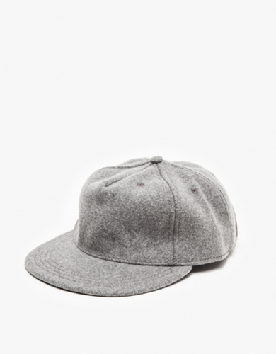 The Pleat Cap In Grey