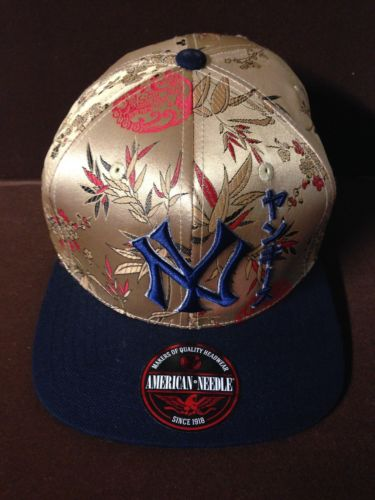Newera Mlb Nyy Yellow And Red Flower Design Baseball Cap 59Fifty Size Adjustable Ebay