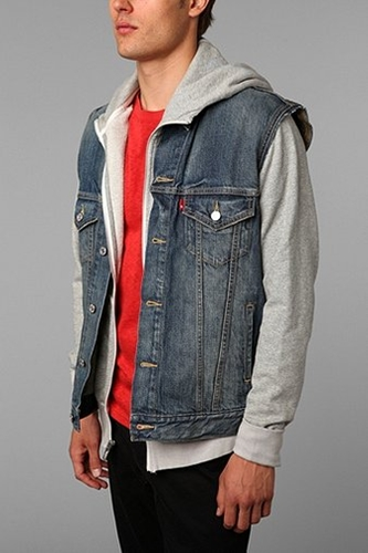 UrbanOutfitters com Levi s Dark Summit Denim Vest