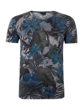 Paul Smith Jeans Mens hawian print Navy House of Fraser