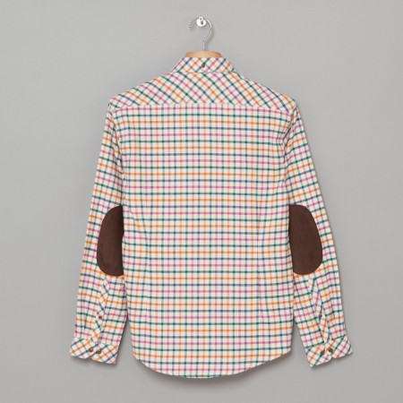 Bayfield Shirt Mid Blue Oi Polloi