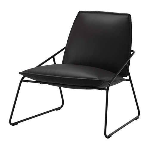 Villstad Easy Chair Samsta Anthracite Ikea