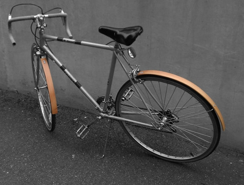 RE cycle Reclaimed Wood Bike Fender von REdesignShop auf Etsy