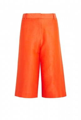 Acne Kat S Shantung Long Shorts By Acne