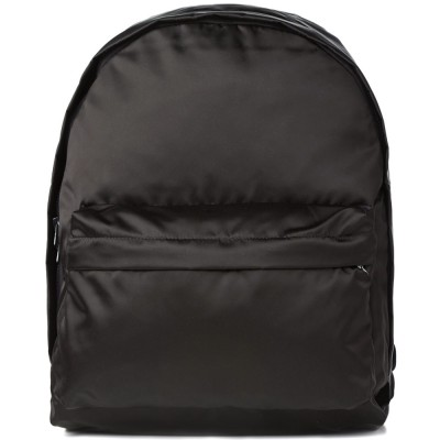 Acne Olov Compact Cotton Backpack Black
