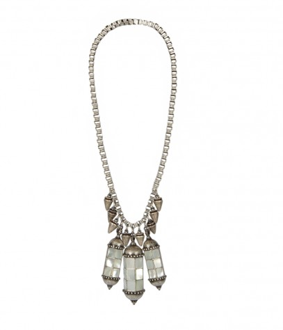 Mother of pearl necklace Indra Sautoir Necklace AllSaints