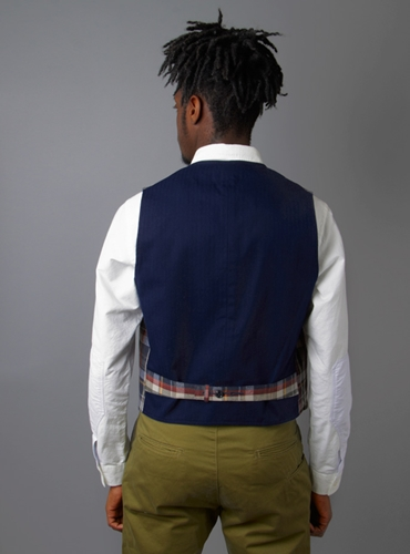 Couverture and The Garbstore Zipper Vest