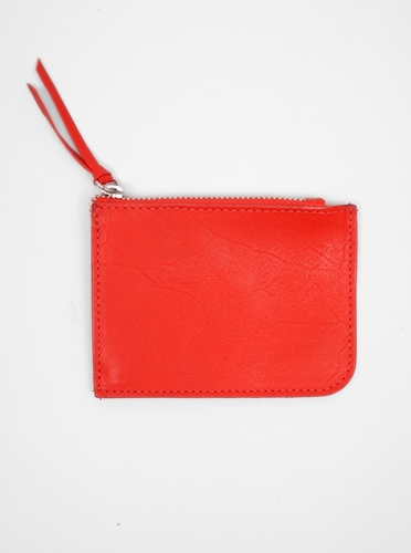 Veja Zip Wallet Red Present London