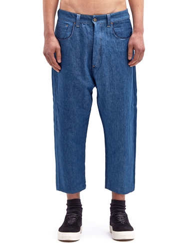 Levi's Red Men's Picker Tapered 3 4 Dropped Crotch Jeans Ln Cc