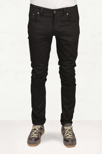 Buy Mens Nudie Jeans Co Grim Tim Organic Black Ring Jeans Start London