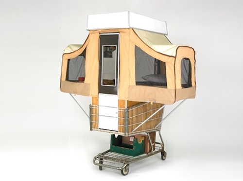 Camper Kart is a Tiny Home That Pops Out of a Shopping Cart Inhabitat Sustainable Design Innovation Eco Architecture Green Building