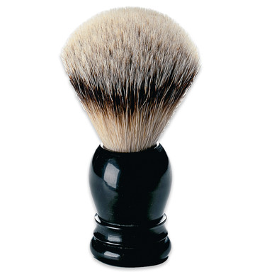 Silver Tip Buffalo Horn Shaving Brush Manufactum
