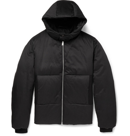 Balenciaga Hooded Quilted Cotton Blend Jacket Mr Porter