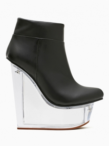 Shoes Jeffrey Campbell Icy Black Leather