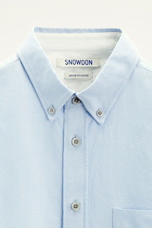 Acne Snowdon II Structure Light Blue TRES BIEN