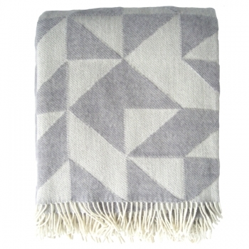 Twist A Twill Blanket Light Grey Throws Decoration Finnish Design Shop