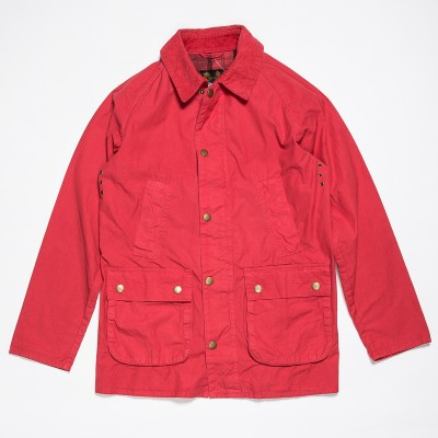 Barbour Overdyed Sl Bedale In Red Atoo.Co.Uk