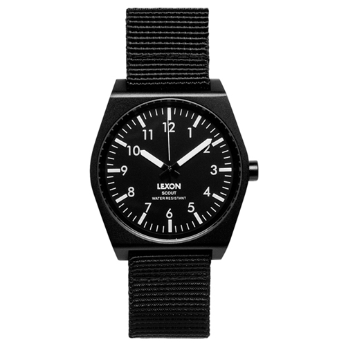 Scout Black Designer Watches Dezeen Watch Store