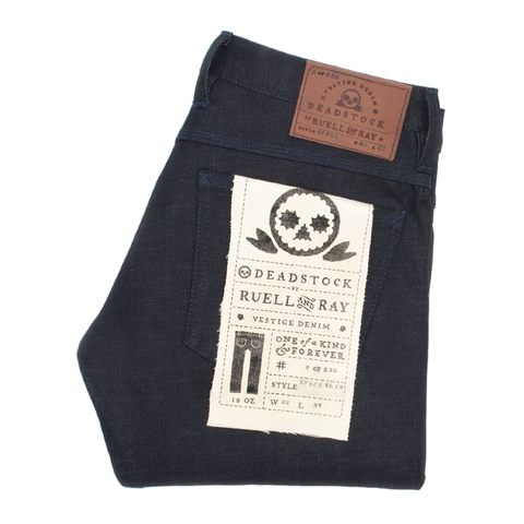 Two Inch Cuffs Indigo Spence Selvedge Slim Jean
