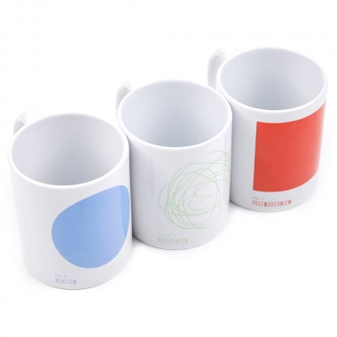 Sixpack France Postmodernism Mug Pack