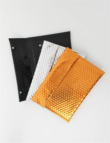 Mm6 By Maison Martin Margiela Metal Fabric Clutch Various