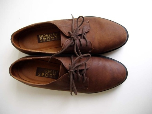 Etsy Transaktion Vintage Brown Suede Oxford Shoes Women's 7 Made In