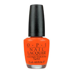 OPI Brights Nail Polish Atomic Orange OPI Nail Polish Polyvore