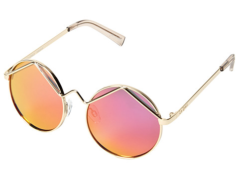 Le Specs Wild Child Gold Pink Revo Mirror Zappos.Com Free Shipping Both Ways