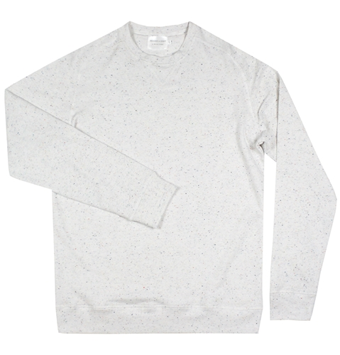 Shades Of Grey Speckled Sweatshirt Huh. Store