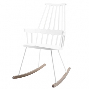 Comback Rocking Chair White Kartell Comback Rocking Chair Lounge Sofas Furniture Finnish Design Shop