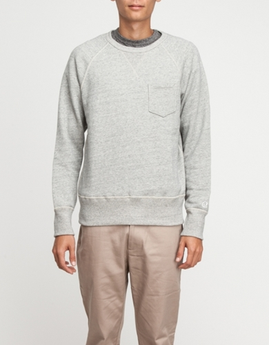 Pocket Sweatshirt In Grey