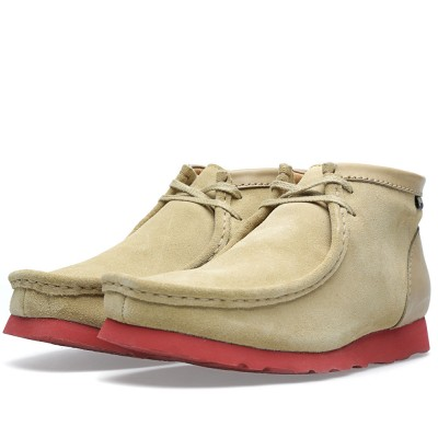 Clarks Originals X Nanamica Wallabee Gore Tex Maple Suede