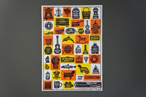 A Pictorial Guide To East London Screenprint Herb Lester