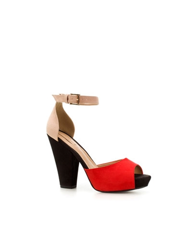 COMBINED VAMP SANDAL Shoes Woman ZARA United States