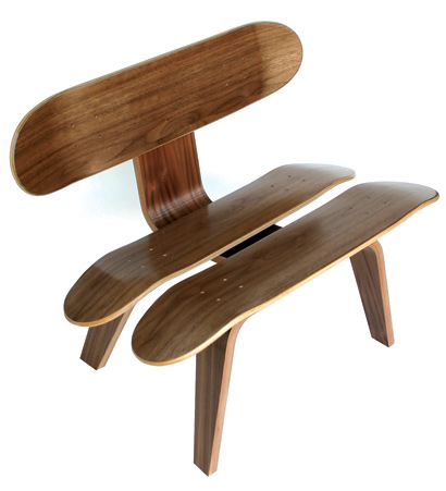 skateboard furniture skateboard chair skateboard nuji