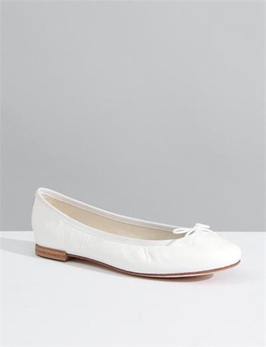Repetto Ballerina Cendrillon White