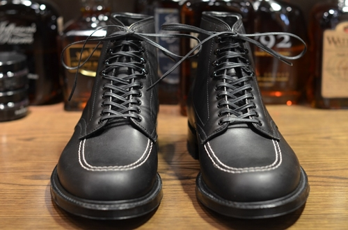 Alden Shoe Black Ultimate Indy LSW Leather Soul