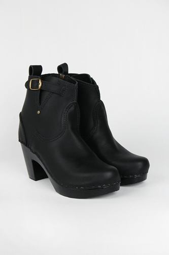 Good As Gold Online Clothing Store Mens Womens Fashion Streetwear Nz 5 Inch Buckle High Heel Boot Black