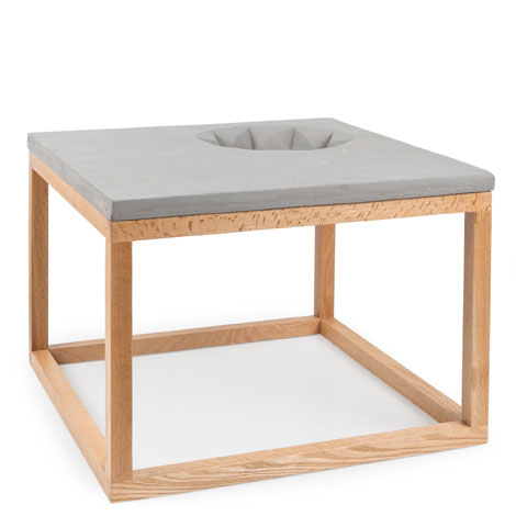 Cement Effect Side Table Zara Home Nederland