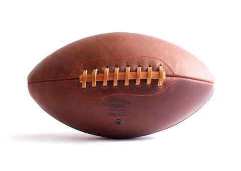 Leather Head Handsome Dan Football Football Sports Footballs Vetted
