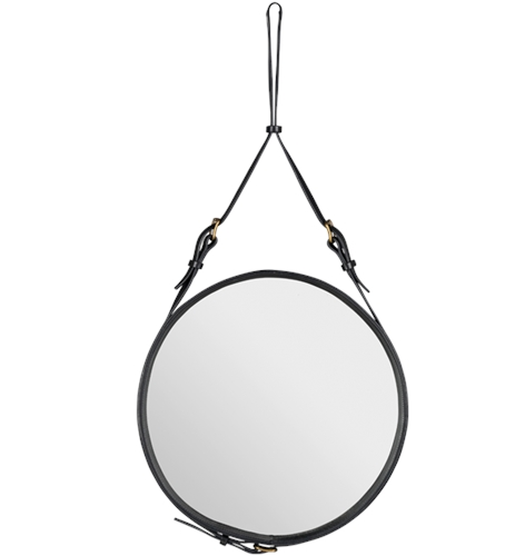 Adnet Mirror Black GUBI