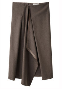 Vanessa Bruno Draped Skirt La Garconne