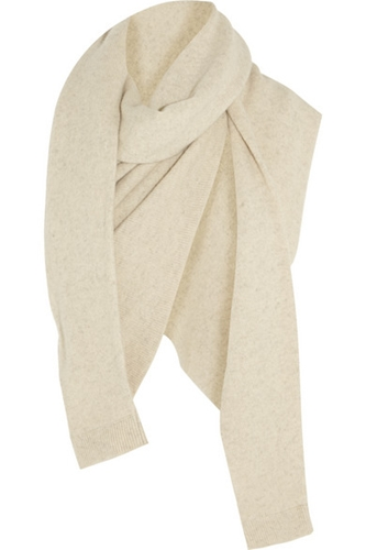 Christophe Lemaire Asymmetric Yak And Merino Wool Blend Scarf Net A Porter.Com